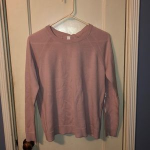 Lululemon long sleeve mauve sweatshirt